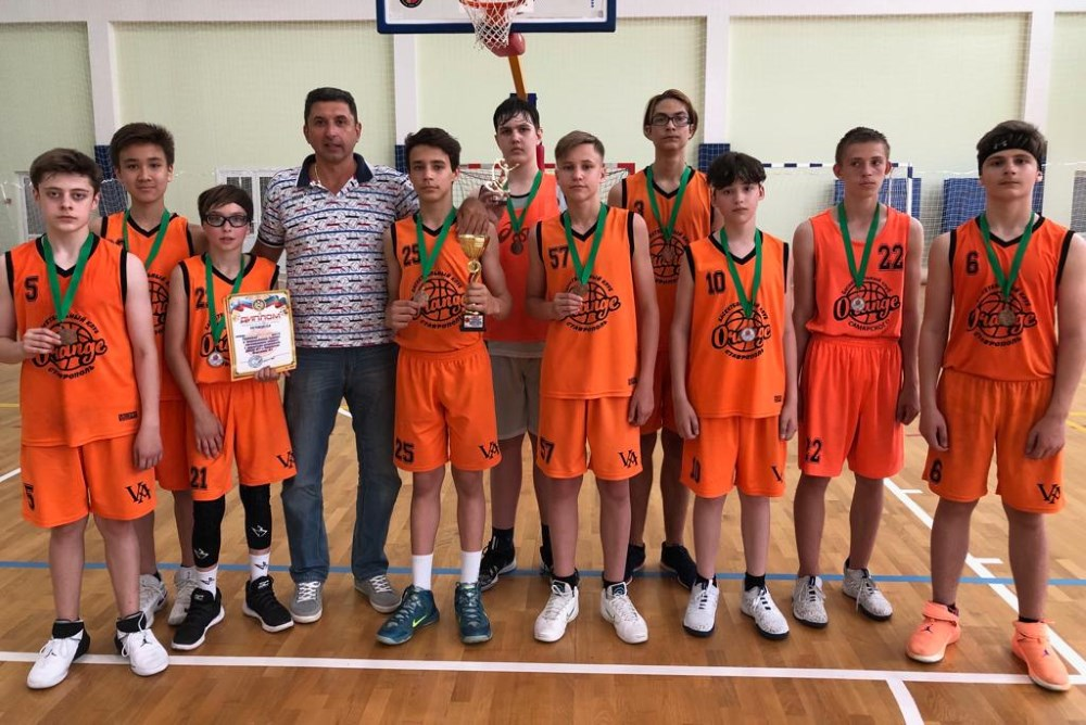 Бронзовые призеры турнира в г. Черкесск
