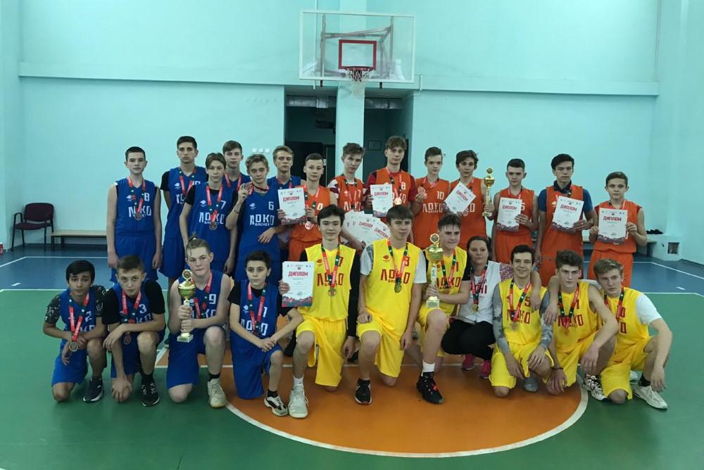 Бронза турнира «Локобаскет-школьная лига»!